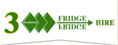 3 Diamond Fridge Hire